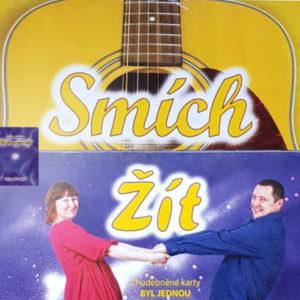 Balíček karet ZJ Byl jednou jeden svět a CD Smích a Žít